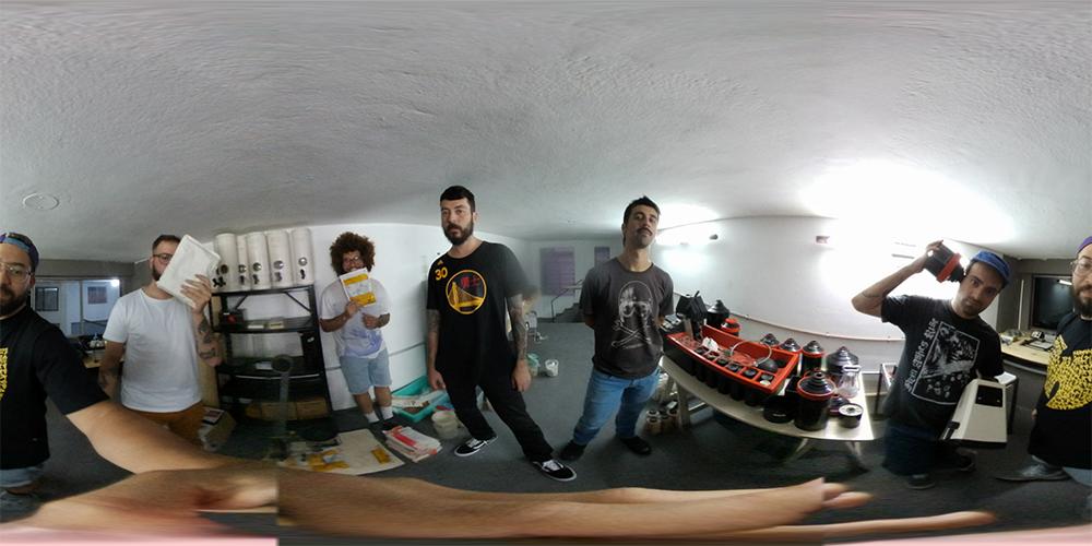 Foto feita pelo Coletivo MOFO com o moto snap 360 camera do moto z2 force