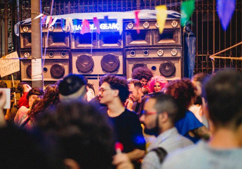 Edição da festa Xêpa nas ruas do Rio de Janeiro