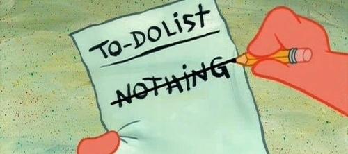 """Na imagem: """"Lista de tarefas - Nada""""."""