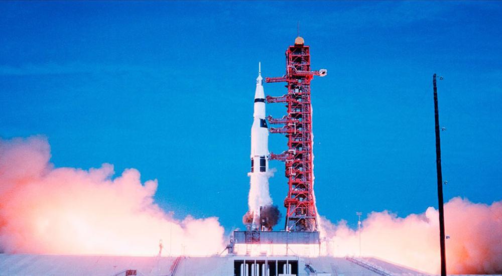 Lançamento da nave Apollo 11