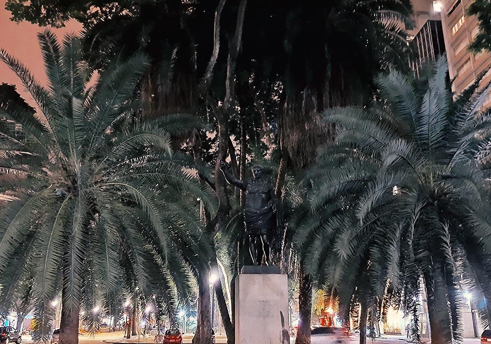 Foto feita com o modo Night Vision do motorolaone vision