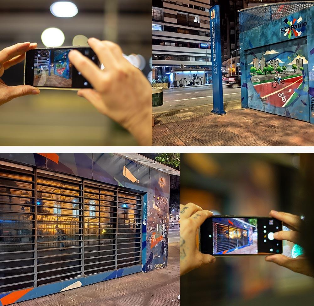 Fotos feitas com o modo Night Vision do motorolaone vision