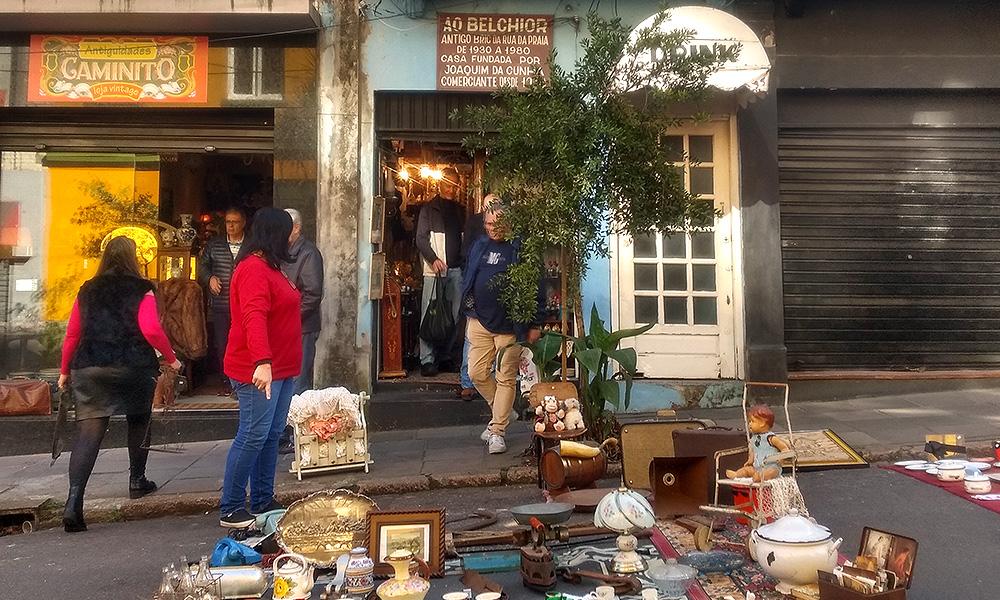 Ao Belchior inspirou as demais lojas da Marechal Floriano
