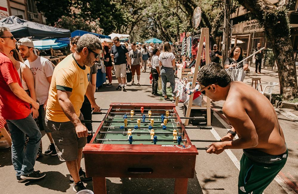 Eventos colaborativos a céu aberto se tornaram uma febre em Porto Alegre, e o Tô na Rua faz parte deste movimento