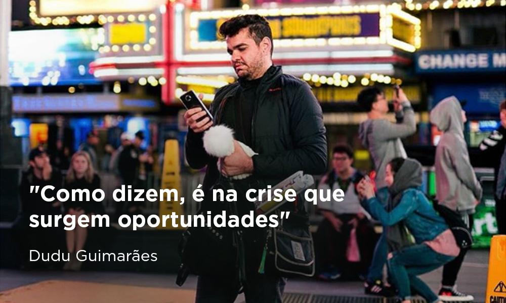 Dudu Guimarães, social media e heavy user de redes sociais